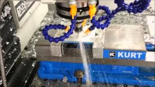 Aluminum Spacer Machining - Tormach PCNC 1100