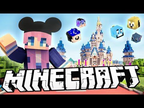 Disney World in Minecraft!?