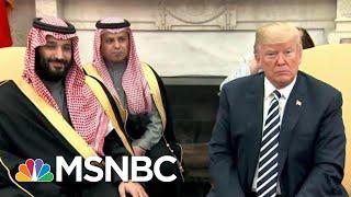 Representative Eric Swalwell On President Donald Trump And Saudi Arabia | The Last Word | MSNBC