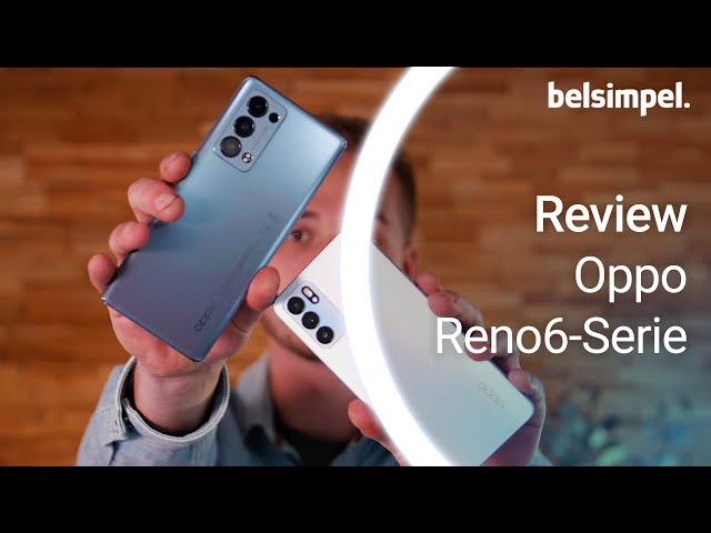 Belsimpel-productvideo voor de Oppo Reno6 5G Blauw