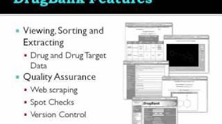 DrugBank and Bioinformatics Databases