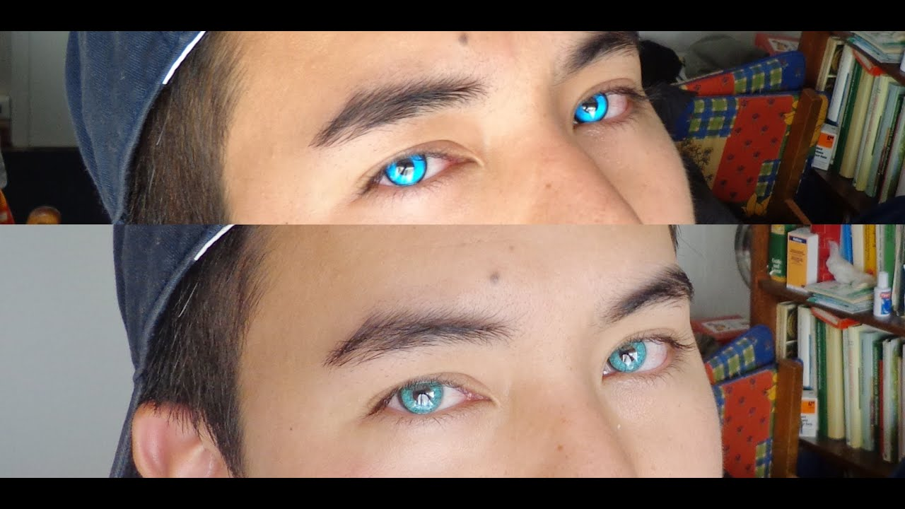 Asian With Blue Contacts 65