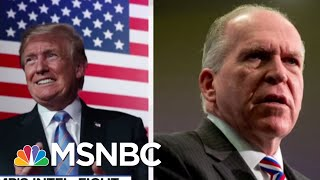 President Donald Trump Gives Input On How To Keep Security Clearances | Velshi & Ruhle | MSNBC