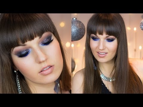 NYE Clubbing Sparkly Party Makeup #Holidaze - Smashpipe Style