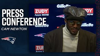 Cam Newton on 2020 Finale: 'It was a great team win' | Patriots Postgame Press Conference