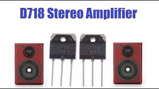Amplificador Classe AB potente com MJE13007! - Valdemar Gomes