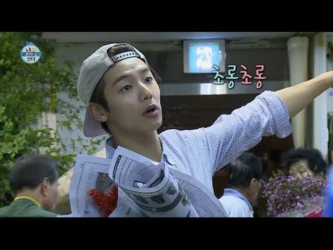 【TVPP】 Minhyuk(CNBLUE) - Flower Shopping, 민혁(씨엔블루) - 꽃 시장 쇼핑 @I Live Alone