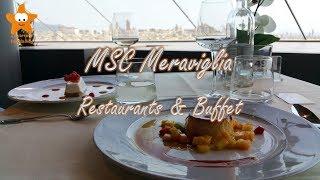 MSC Meraviglia Restaurants & Buffet QHD 2017 @CruisesandTravelsBlog