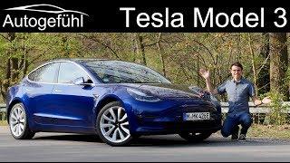 Tesla Model 3 FULL REVIEW Long Range model 2020 - Autogefühl
