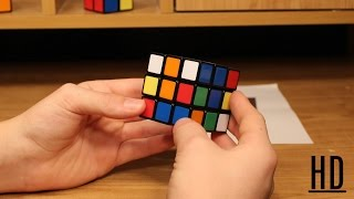 How To Solve a 3x3 Rubik's Cube [Easiest Tutorial in HD]
