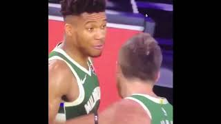 Giannis Antetokounmpo LOST HIS MIND! Headbutt to Mo Wagner!