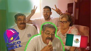 Mexican Grandparents Try TACO BELL *first time*