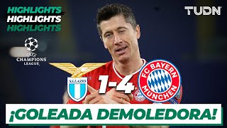 Highlights | Lazio 1-4 Bayern | Champions League 2021 - Octavos | TUDN