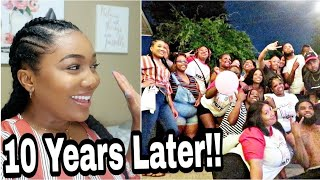 I WENT TO MY 10 YEAR HIGH SCHOOL REUNION (DAY 1)