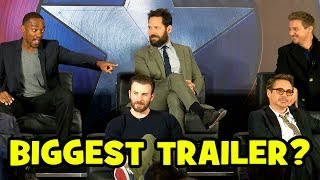 Who Has The BIGGEST TRAILER? Captain America Civil War Cast Reveal All!