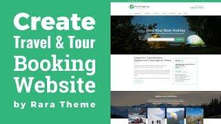 Travel Agency WordPress Theme Customization Tutorial   Travel Booking Website