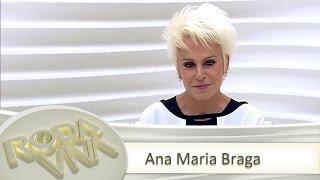 Ana Maria Braga no Roda Viva