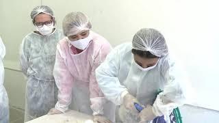 Hospitais do Ceará receberam capacetes Elmos para ajudar no tratamento de infectados de Covid-19
