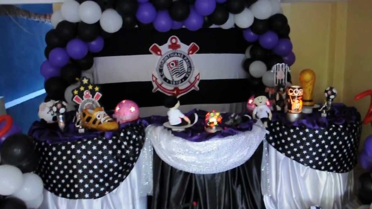 Festa De 15 Anos Simples: Tim Tim Festas Decoração Corinthians!