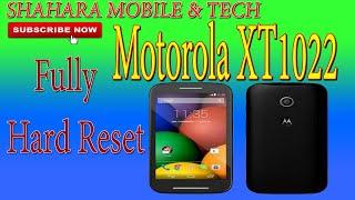 Motorola Moto M, Factory Reset - M TOUCH