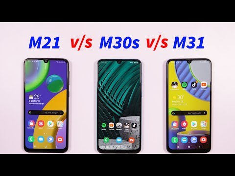 video Samsung Galaxy M30s (Quartz Green, 6GB RAM, 128GB Storage)