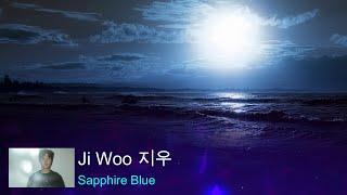 JIWOO (지우) - Sapphire blue (Lyrics Video)