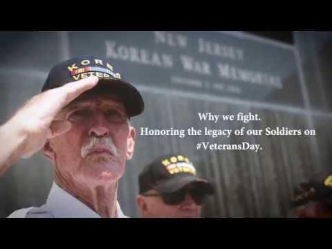 Why we fight:  Honoring the legacy of our Soldiers on Veterans Day