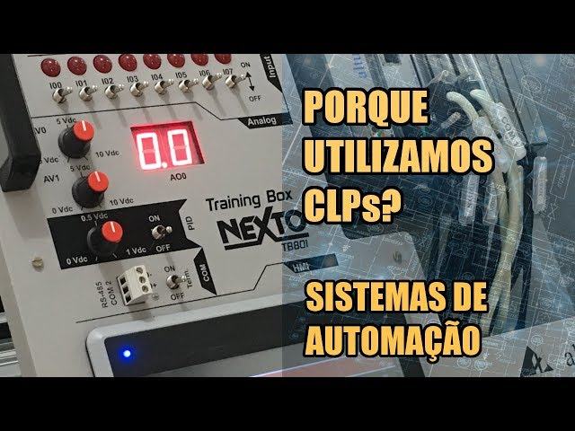 PORQUE UTILIZAMOS CLPs? | Sistemas de Automação #001
