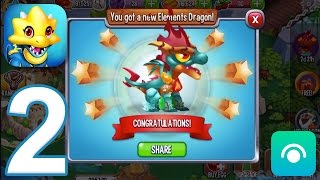 Dragon City - Gameplay Walkthrough Part 2 - Level 6-9 (iOS, Android)