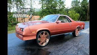 WhipAddict: 86' Chevy El Camino SS on Copper Rucci Forged 26s, 6.2 LS, Custom Paint & Interior