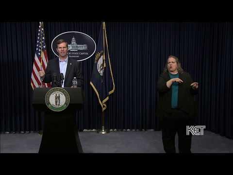 Gov. Andy Beshear March 16 5:00 p.m. Update | Coronavirus | KET