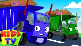Wheels On The Garbage Truck Go Round And Round | Nursery Rhymes | Kids Baby Rhymes | Kids Tv