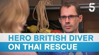 Thai cave rescue: British diver lost rope guide for four minutes during mission - 5 News