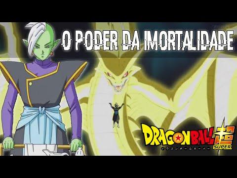O PODER DA IMORTALIDADE DE ZAMASU / Dragon ball super ep.58 / Análise