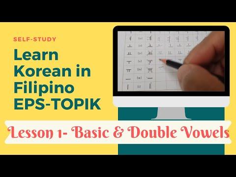 Learn Korean in Filipino V2 - EPS-TOPIK 01