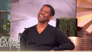 Denzel Does a Mean Jay-Z Impression on The Queen Latifah Show