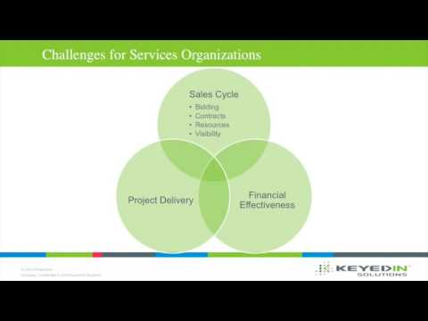 Webinar:Connecting Sales, Service Delivery and Finance for More Profitable Project Delivery