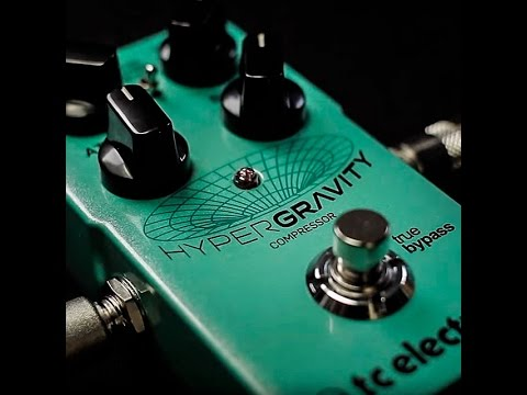 TC Electronic Hyper Gravity Guitar Compressor Effect Pedal