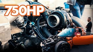 MY 750HP LOTUS IS TOO FAST *INSANE POWER*