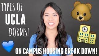 Types Of UCLA Dorms Rooms Explained! (Housing Breakdown)