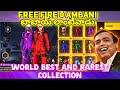 FREE KA AMBANI BABAI KA ID||World's Best and richest collection ever in free fire||AMBANI collection