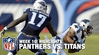 Panthers vs. Titans | Week 10 Highlights | NFL
