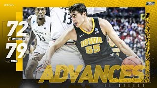 Iowa vs. Cincinnati: First round NCAA tournament extended highlights