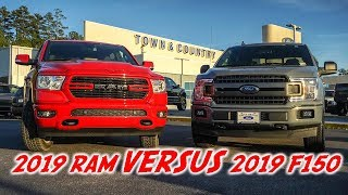 2019 RAM vs 2019 F150 - A Ford Owners Perspective!