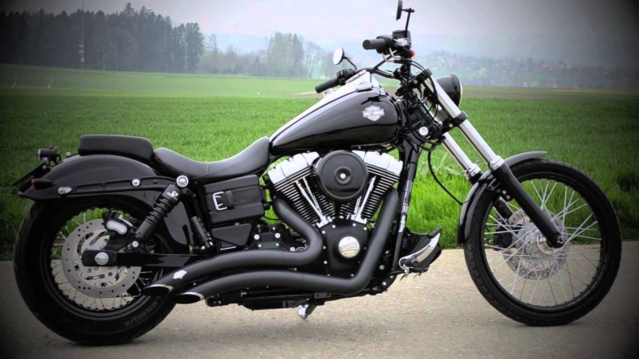 Sick Custom Dyna Wide Glide: Harley Davidson Dyna Wide Glide 2012