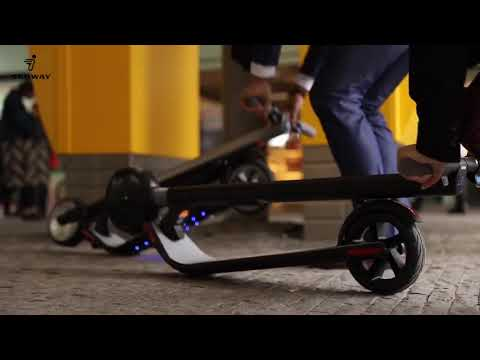 video Segway ES4 Electric Scooter – Dual Battery