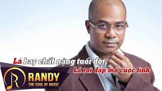 Đắp Mộ Cuộc Tình Karaoke ‣ Randy (St. Vũ Thanh)   Nhạc Vàng Karaoke Beat