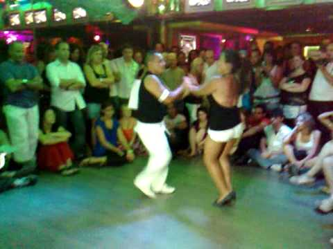 gran final concurso de bachata milpasos 2009, pareja Nº 7. fabian y patricia