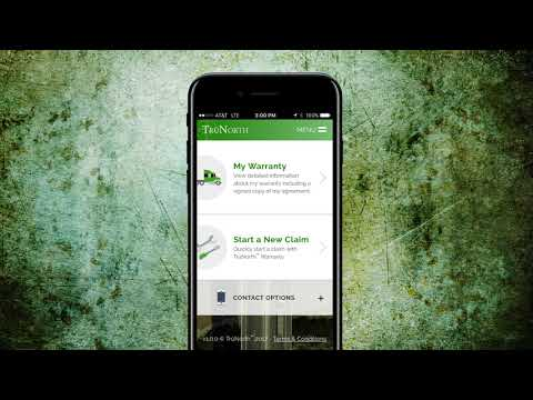 Introducing the TruNorth Warranty Mobile App