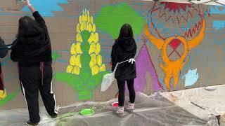 Native art highlighted in Talking Walls at Beaverton's Greenway Park